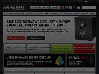 Strona Xemarkets.pl
