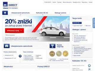 Strona AXA Direct